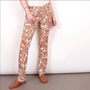 Zara paisley pants